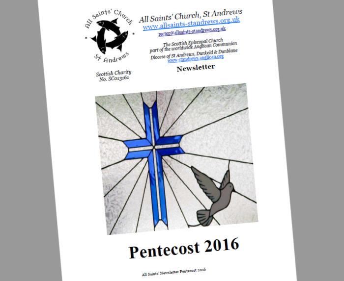 Newsletter—Pentecost 2016