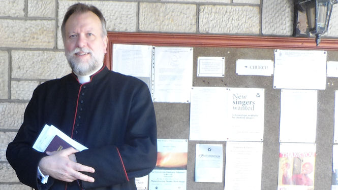 Farewell lunch for Fr Jonathan