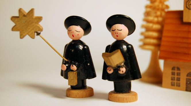 Advent carol service